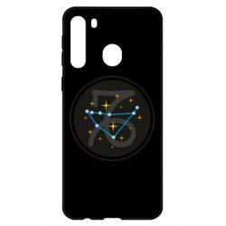 Чехол для Samsung A21 Capricorn constellation