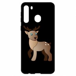 Чехол для Samsung A21 Cartoon deer