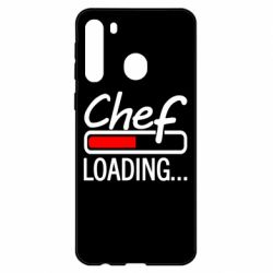 Чехол для Samsung A21 Chef loading