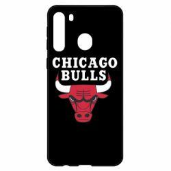 Чехол для Samsung A21 Chicago Bulls Classic