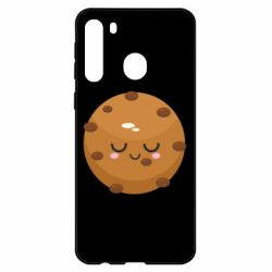 Чехол для Samsung A21 Chocolate Cookies
