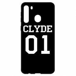 Чехол для Samsung A21 Clyde 01