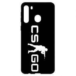 Чехол для Samsung A21 Counter Strike GO