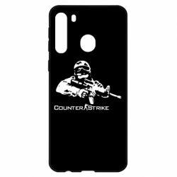 Чехол для Samsung A21 Counter Strike Player
