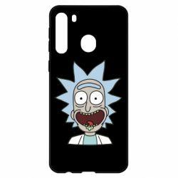 Чехол для Samsung A21 Crazy Rick