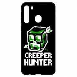 Чехол для Samsung A21 Creeper Hunter