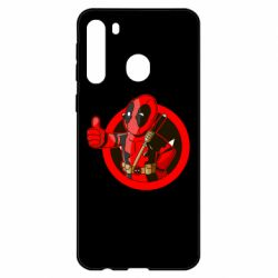 Чехол для Samsung A21 Deadpool Fallout Boy