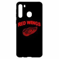 Чехол для Samsung A21 Detroit Red Wings