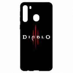 Чехол для Samsung A21 Diablo 3