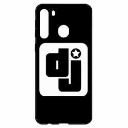 Чехол для Samsung A21 DJ star