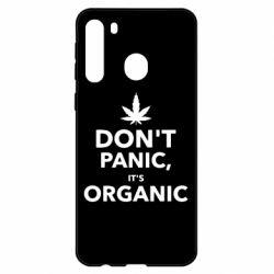 Чехол для Samsung A21 Dont panic its organic