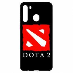 Чехол для Samsung A21 Dota 2 Big Logo