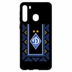 Чехол для Samsung A21 Dynamo logo and ornament