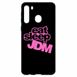 Чехол для Samsung A21 Eat sleep JDM