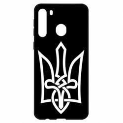 Чехол для Samsung A21 Emblem 22