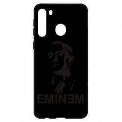 Чехол для Samsung A21 Eminem Logo