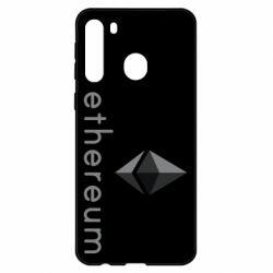 Чехол для Samsung A21 Ethereum