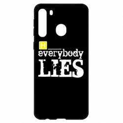 Чехол для Samsung A21 Everybody LIES House