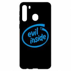 Чехол для Samsung A21 Evil Inside