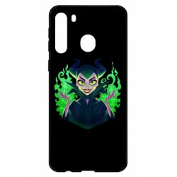 Чехол для Samsung A21 Evil Maleficent