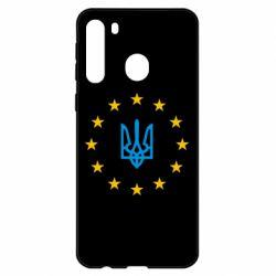 Чехол для Samsung A21 ЕвроУкраїна