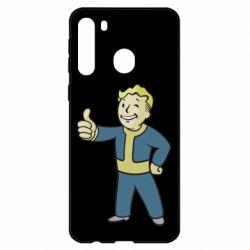 Чехол для Samsung A21 Fallout Boy