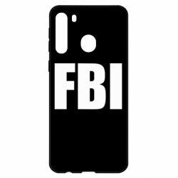 Чехол для Samsung A21 FBI (ФБР)