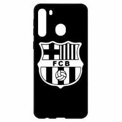 Чехол для Samsung A21 FC Barcelona