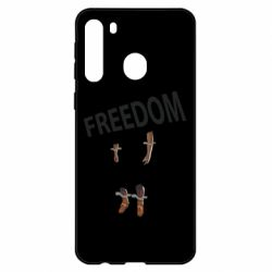 Чехол для Samsung A21 Freedom and limbs