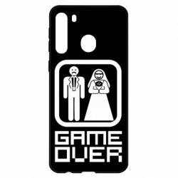 Чехол для Samsung A21 Game Over
