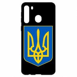 Чехол для Samsung A21 Герб неньки-України