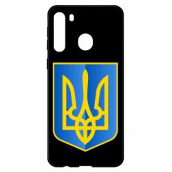 Чехол для Samsung A21 Герб України 3D