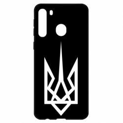 Чехол для Samsung A21 Герб України загострений