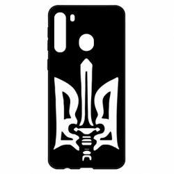 Чехол для Samsung A21 Герб з мечем