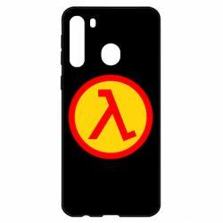 Чехол для Samsung A21 Half Life Logo