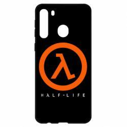 Чехол для Samsung A21 Half-life logotype