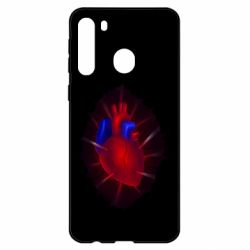 Чехол для Samsung A21 Heart and blood vessels