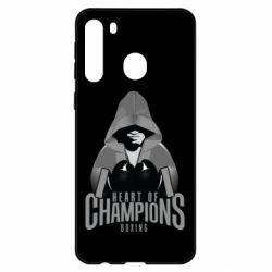 Чехол для Samsung A21 Heart of Champions