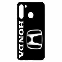 Чехол для Samsung A21 Honda 3D Logo
