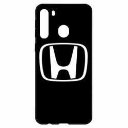 Чехол для Samsung A21 Honda Logo
