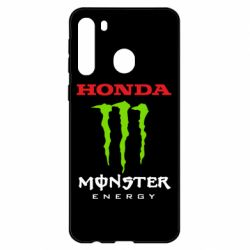 Чехол для Samsung A21 Honda Monster Energy