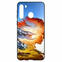 Чехол для Samsung A21 Horizon Zero Dawn art