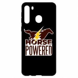 Чехол для Samsung A21 Horse power
