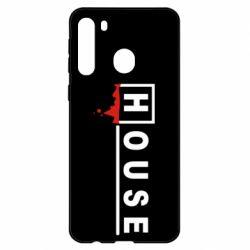 Чехол для Samsung A21 House