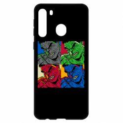 Чехол для Samsung A21 Hulk pop art