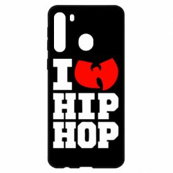 Чехол для Samsung A21 I love Hip-hop Wu-Tang