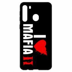 Чехол для Samsung A21 I love Mafia 2