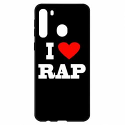 Чехол для Samsung A21 I love rap