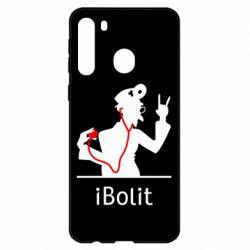 Чехол для Samsung A21 iBolit