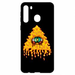 Чехол для Samsung A21 Illuminati is melting